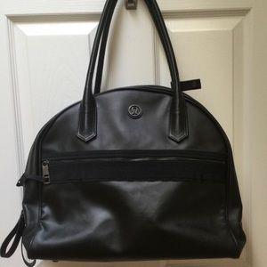 Lululemon Athelica black Yoga/Laptop Travel bag